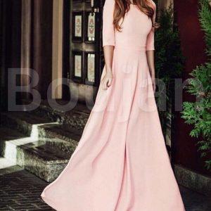 خرید لباس مجلسی بلند پوشیده / لباس ماکسی دخترانه