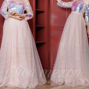 لباس بلند پفی / لباس عروسکی