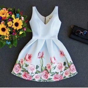 لباس دخترانه کوتاه شیک